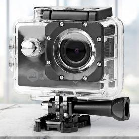 Ultra HD Action Cam mit Unterwassergehuse