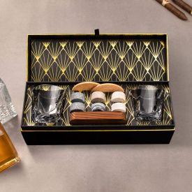 Whisky Set mit Whiskyglsern in edler Geschenkbox