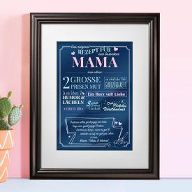 Personalisiertes Bild - Rezept fr eine besondere Mama