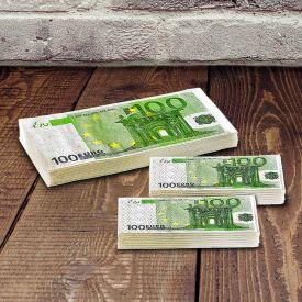 Geld Taschentcher - 100 Euro Scheine