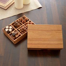 Matre QI - Jeux dans bote en bois