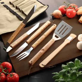 Set daccessoires de barbecue premium