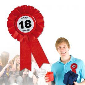 Ansteckbutton zum 18. Geburtstag