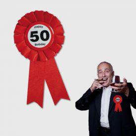 Ansteckbutton zum 50. Geburtstag