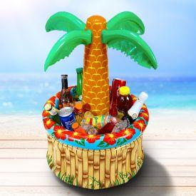 Palmier gonflable - rafrachisseur de boisson