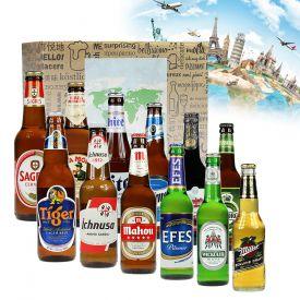 Bier Weltreise XL - 12er Geschenkbox