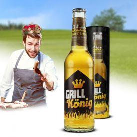 Bierflasche 033 l - Grillknig