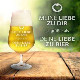Bierglas - Liebe