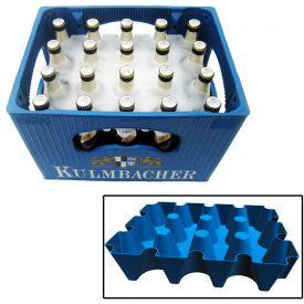 Bierkhler - Eisblockform fr Bierkisten - 05 l Flaschen
