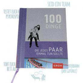 Buch - 100 Dinge die ein Paar getan haben muss