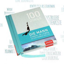 Buch - 100 Dinge die Mann getan haben muss