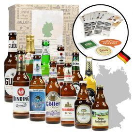 Bires allemandes  bote cadeau de 12 pices