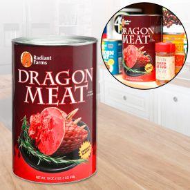 Drachen Dosenfleisch
