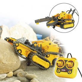 Vhicule chenill tlcommand 3 en 1  kit de construction robo