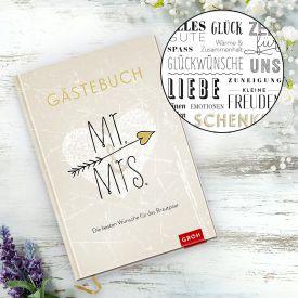 Gstebuch zur Hochzeit - Mr and Mrs