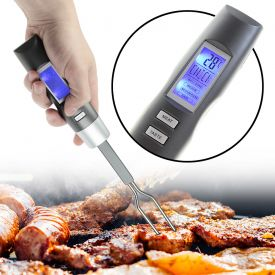 Thermomtre de barbecue - Fourchette  viande lectronique