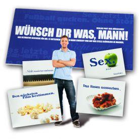 Gutscheinbuch fr Mnner - Wnsch Dir was