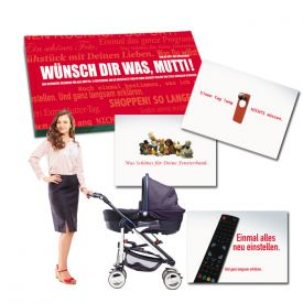 Gutscheinbuch fr Mtter - Wnsch Dir was