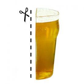 Demi bire  Verre  bire demi pinte