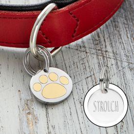 Halsbandanhnger fr Hunde und Katzen - Pfote