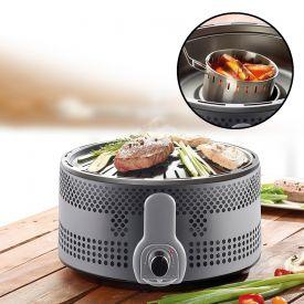 Grill de table avec charbon de bois  Version professionnelle