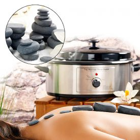 Hot Stone Set mit Wrmegert