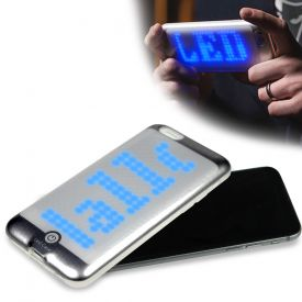 iPhone 66S Hlle mit programmierbarer LED Laufschrift