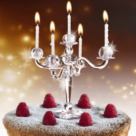 Kerzenstnder fr Kuchen und Torte