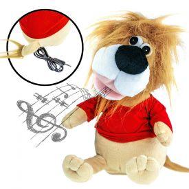 Kuscheltier Lwe - animiert mit Lautsprecher