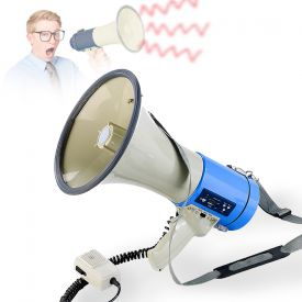 Mgaphone avec son puissant et lecteur MP3