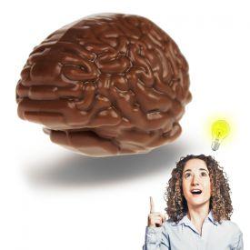 Cerveau en chocolat