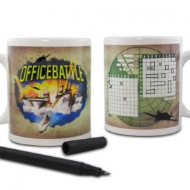 Office Battle  Set de 2 tasses
