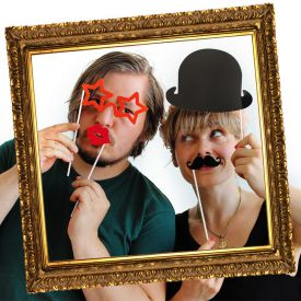 Party Photo Booth  Set de 17 lments