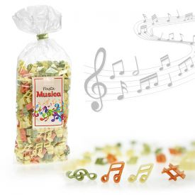 Pasta Musica - 250 g de ptes colores