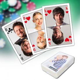 Personalisierte Poker Karten