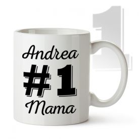 Personalisierte Tasse - Nummer 1 Mama