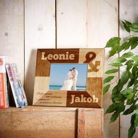 Personalisierter Bilderrahmen fr Paare - Kaufmnnisches Und