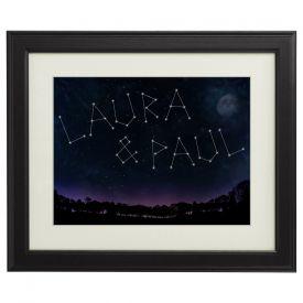Personalisiertes Bild - Sternenhimmel