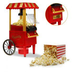 Machine  popcorn rtro avec chariot