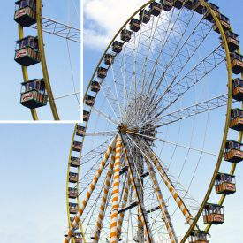 Grande roue - Kit de construction de 14 millions de pices