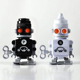Salz  Pfeffer Aufzieh-Roboter
