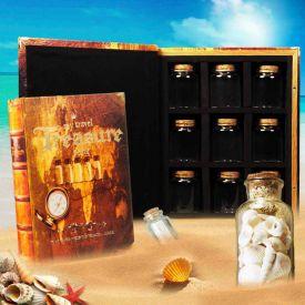 Schatztruhe im Buchformat - Travel Treasures