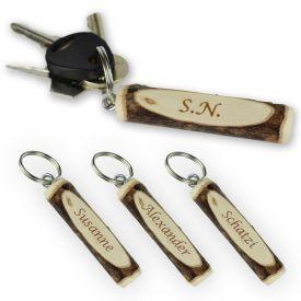 Schlsselanhnger Holz - personalisiert