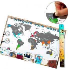 Scrape map deluxe