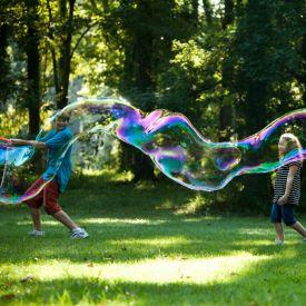 Set fr Riesenseifenblasen