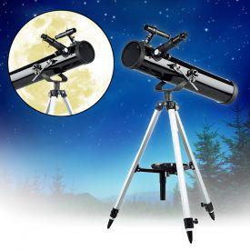 Spiegelteleskop mit Dreibeinstativ