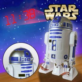 Star Wars R2D2 Wecker mit Zeitprojektion