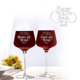 Weinglser fr Brauteltern