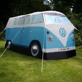 Tente - Combi Volkswagen bleu