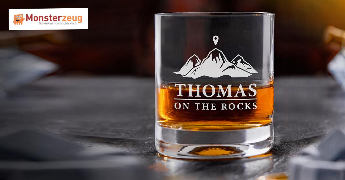 Personalisiertes Whiskyglas